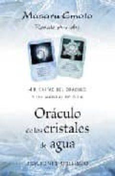 Inmaswan.es Oraculo De Los Cristales De Agua: 48 Cartas De Oraculo Y Un Manua L De Guia Image