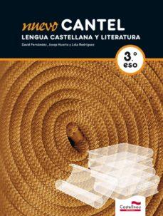 Padella.mx Nuevo Cantel. Lengua Castellana Y Literatura 3º Eso (Libro + Cd) Image