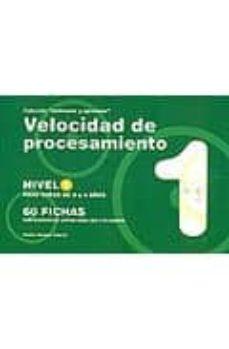 velocidad de procesamiento nivel 1: para niños de 3 a 4 años 60 f ichas-jesus jarque garcia-9788498961881