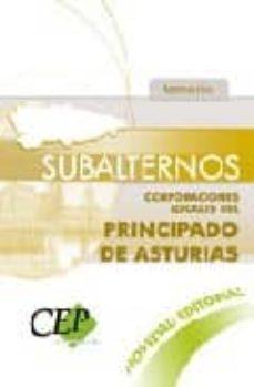 Encuentroelemadrid.es Subalternos Corporaciones Locales Del Principado De Asturias. Tem Ario Image