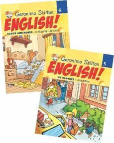 Chapultepecuno.mx Pack Llibres I Cd S Curs Angles Geronimo Stilton Image