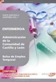 Relaismarechiaro.it Enfermero/a De La Administracion De Castilla Y Leon. Bolsa De Emp Leo Temporal. Parte Especifica Sanitaria Vol. I. Image