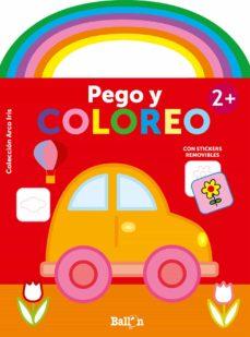 Cronouno.es Arco Iris - Pego Y Coloreo +2 Coche Image