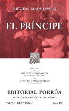 el principe-nicolas maquiavelo-9789700761381