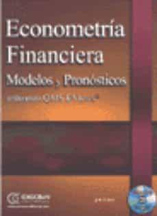 Alienazioneparentale.it Econometria Financiera: Modelos Y Pronosticos Utilizando Qms Evie Ws (Contiene Cd-rom) Image