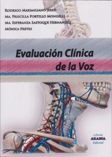 Descargar libros electrónicos gratis libros de google EVALUACIÓN CLÍNICA DE LA VOZ