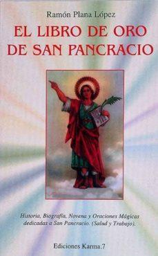 EL LIBRO DE ORO DE SAN PANCRACIO - RAMÓN PLANA LÓPEZ | Adahalicante.org