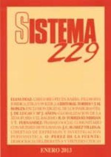 Javiercoterillo.es Revista Sistema Nº 229 (Enero 2013) Image
