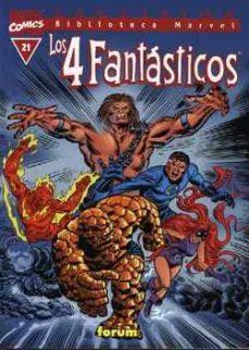 Debatecd.mx Los 4 Fantasticos Nº 21 (Biblioteca Marvel V.i) Image
