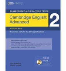 Descargar Ebooks para Mac gratis EXAM ESSENTIALS CAMBRIDGE ADVANCED PRACTICE TEST 2 WITHOUT KEY + DVD-ROM (Literatura española) 9781285745091 ePub RTF DJVU