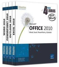Inmaswan.es Microsoft Office 2010: Word, Excel, Powerpoint Y Outlook - Pack 4 Libros Image