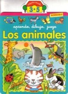 Cronouno.es Los Animales: Aprendo, Dibujo, Juego (3-5 Años) Image