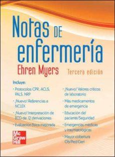 Mrnice.mx Notas De Enfermeria (3ª Ed.) Image