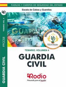 Descargando audiolibros a iphone desde itunes GUARDIA CIVIL 2020. TEMARIO. VOLUMEN 4. ESCALA DE CABOS Y GUARDIA S. PDB