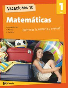 vacaciones 10. matematicas 1 eso-9788421853191