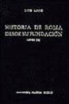 historia de roma desde su fundacion: libros xxvi-xxx (t.5)-tito livio-9788424916091