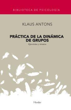 practica de la dinamica de grupos-klaus antons-9788425407291