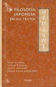 la filosofia japonesa en sus textos-james w. heisig-thomas p. kasulis-9788425433191