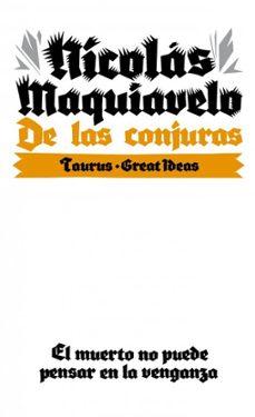 de las conjuras (great ideas)-nicolas maquiavelo-9788430609291