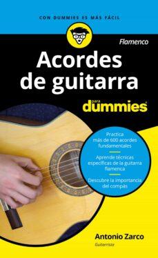 Descargar ACORDES DE GUITARRA PARA DUMMIES gratis pdf - leer online