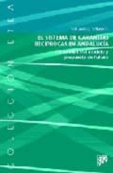 EL SISTEMA DE GARANTIAS RECIPROCAS EN ANDALUCIA: UN ANALISIS DEL MODELO Y PROPUESTA DE FUTURO - EDUARDO J. VILLASECA |
