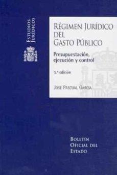 Relaismarechiaro.it Regimen Juridico Del Gasto Publico(5ª Ed.) Image