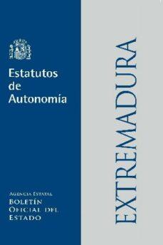 estatuto de extremadura (7ª ed.)-9788434019591