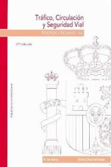 Permacultivo.es Trafico, Circulacion Y Seguridad Vial(27ª Ed.) Image