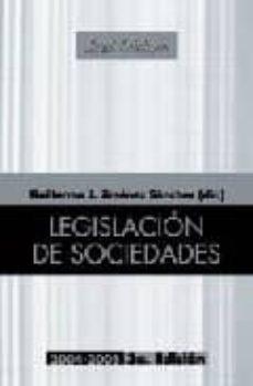 Inmaswan.es Legislacion De Sociedades (3ª Ed.) Image