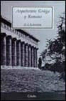 Inciertagloria.es Arquitectura Griega Y Romana (4ª Ed.) Image