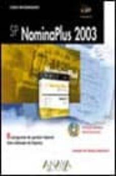 Eldeportedealbacete.es La Biblia De Sp Nominaplus 2003 (Incluye Cd-rom) Image
