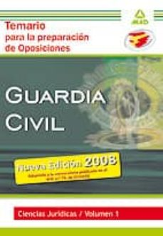 Titantitan.mx Guardia Civil. Temario Para La Preparacion De Oposicion. Ciencias Juridicas. Volumen I. Image