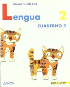 Inmaswan.es Lengua 2. Cuaderno 2 (Comunidad De Madrid, Educacion Primaria Pri Mer Ciclo) Image