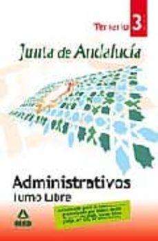 Emprende2020.es Administrativos De La Junta De Andalucia. Turno Libre. Temario (V Ol. Iii) Image