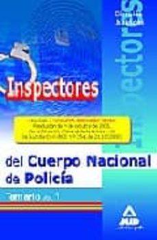 Debatecd.mx Inspectores Del Cuerpo Nacional De Policia. Temario Volumen I. Ci Encias Juridicas Image