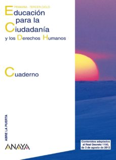 Javiercoterillo.es Educación Para La Ciudadanía Y Los Derechos Humanos. Cuaderno. Image