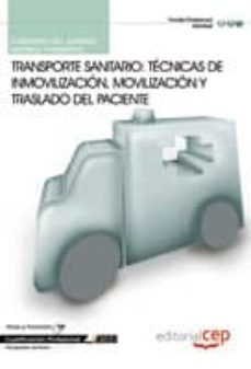 Titantitan.mx Cuaderno Del Alumno Transporte Sanitario: Técnicas De Inmovilizac Ion Y Traslado Del Paciente Image