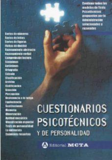 Descargar CUESTIONARIOS PSICOTECNICOS Y DE PERSONALIDAD: EJERCICIOS PRACTICOS gratis pdf - leer online