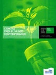 Cronouno.es Ciencias Para El Mundo Contemporáneo (L+cd) Image