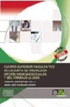 Followusmedia.es Cuerpo Superior Facultativo De La Junta De Andalucia. Opcion Ciencias Sociales Y Del Trabajo (A.2028). Temario Especifico Image