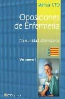 Enmarchaporlobasico.es Manual Cto Oposiciones De Enfermeria (2 Vols.): Comunidad Valenci Ana Image