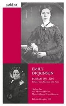 emily dickinson - poemas 601-1200 + cd (edic. bilingüe)-ana mañeru mendez-9788493715991
