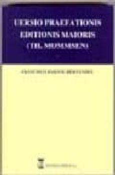 UERSIO PRAEFATIONIS EDITIONIS MAIORIS: TH. MOMMSEN (ED. CASTELLAN O-LATIN) - FRANCISCO BARTOL HERNANDEZ | Triangledh.org