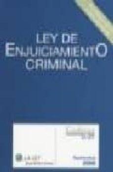Milanostoriadiunarinascita.it Ley De Enjuiciamiento Criminal (Ley 06) Image