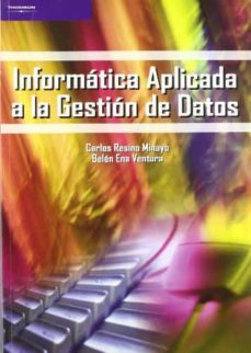 Descargar INFORMATICA APLICADA A LA GESTION DE DATOS gratis pdf - leer online