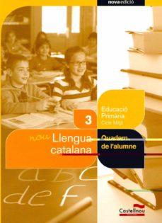 Javiercoterillo.es Nou Quadern De Llengua Catalana 3º Primaria Salvem La Balena Blanca Image