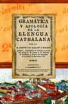 Mrnice.mx Gramatica Y Apologia De La Llengua Cathalana Image
