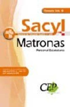 Upgrade6a.es Matronas Personal Estatutario Servicio De Salud De Castilla Y Leo N (Sacyl). Temario Vol. Iii Image