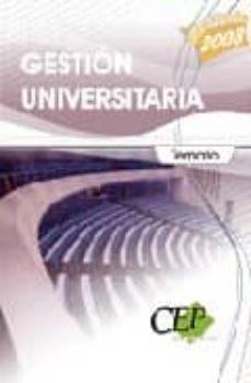 Vinisenzatrucco.it Temario Gestion Universitaria. Oposiciones Generales Image