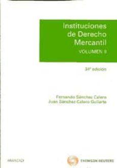 Javiercoterillo.es Instituciones De Derecho Mercantil, Vol. Ii Image